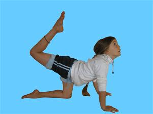 Image result for tiger yoga pose kids